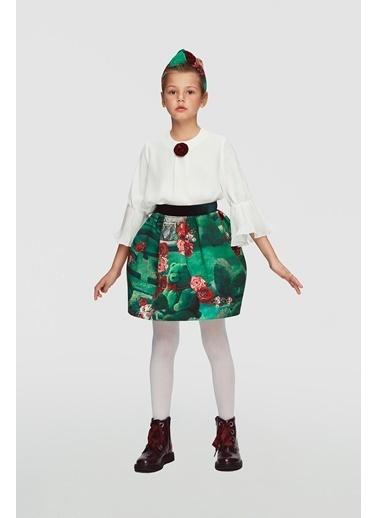 Lia Lea Kız Çocuk Beyaz Bluz Beyaz